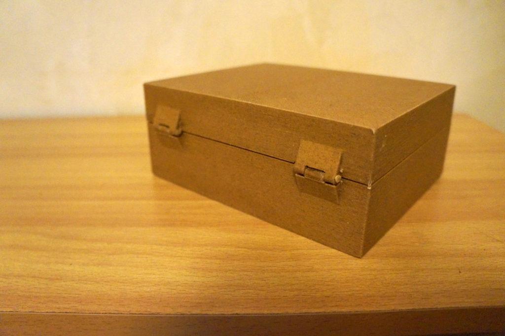 Sewing spool box