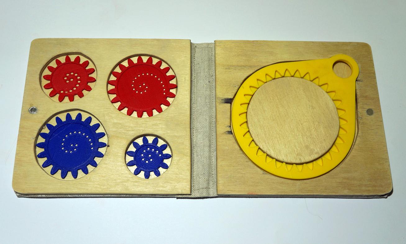 Spirograph box open